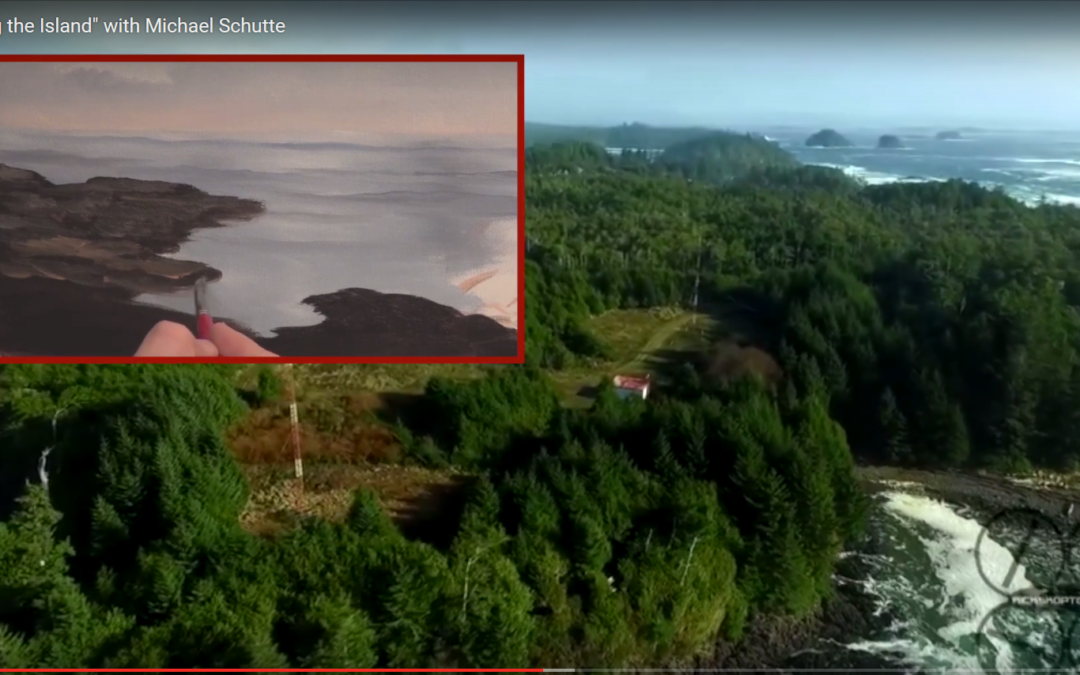"""RicksKopter featured on """"Painting the Island """" with Micheal Schutte"""